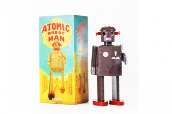 Robot Atomic Grey