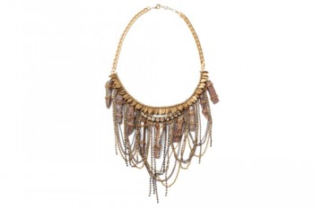 ashlyn necklace gold