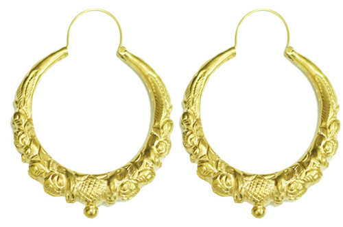 EAR-Marwari-Gold